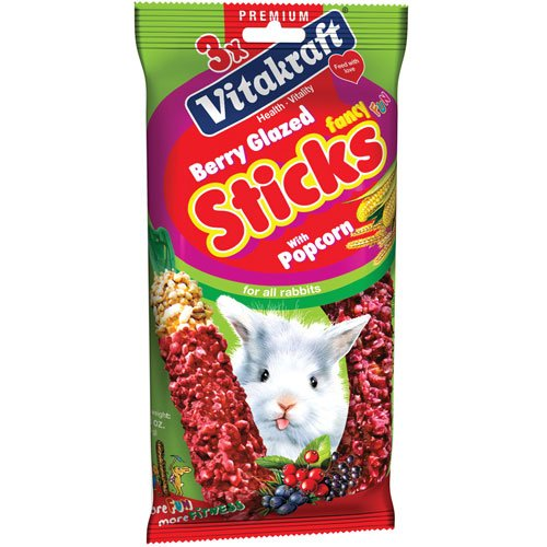 Berry Glazed Sticks For Rabbits - 3 pack Best Price