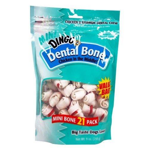 Dental Mini Dog Bones 21 Pk / 9 Oz