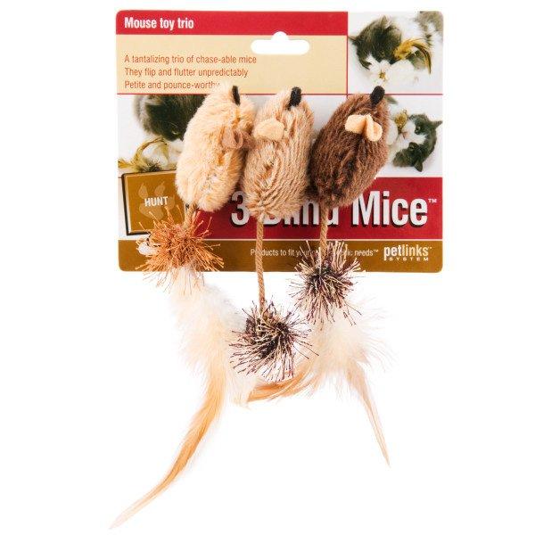 3 Blind Mice Cat Toy