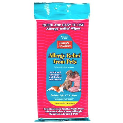 Allergy Relief from Pets Wipes 8 ct. Best Price