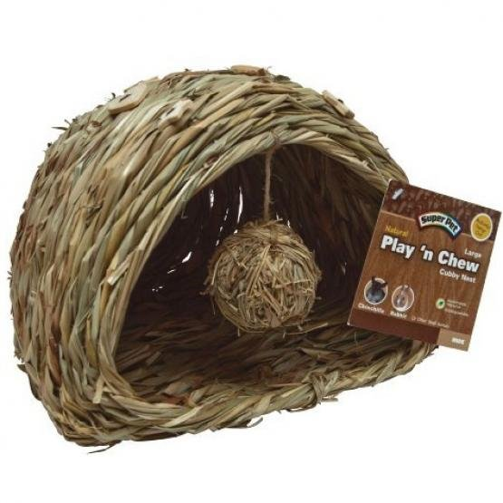 Super Pet Natural Play N Chew Cubby Nest / Size Large