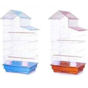 House Style Roof Cockatiel/Parakeet Cage (Case of 4) Best Price