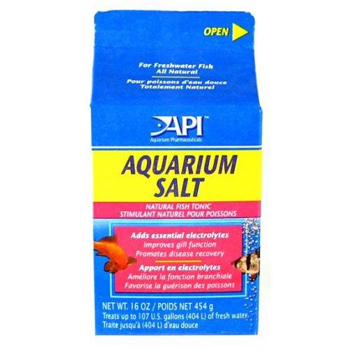 Api Aquarium Salt / Size 16 Oz.