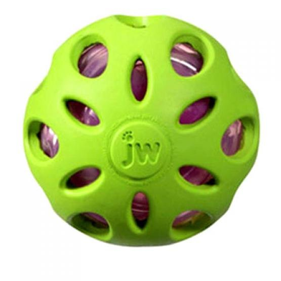 Crackle Heads Dog Ball / Size (Large)