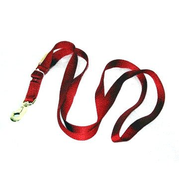 7 ft Animal Lead Nylon with Snap - Red Best Price