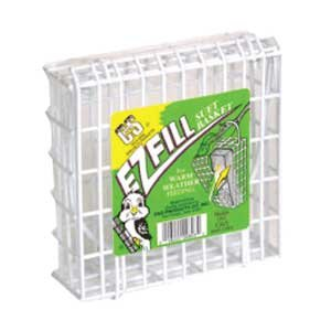 E-Z Fill White Suet Basket for Wild Birds Best Price