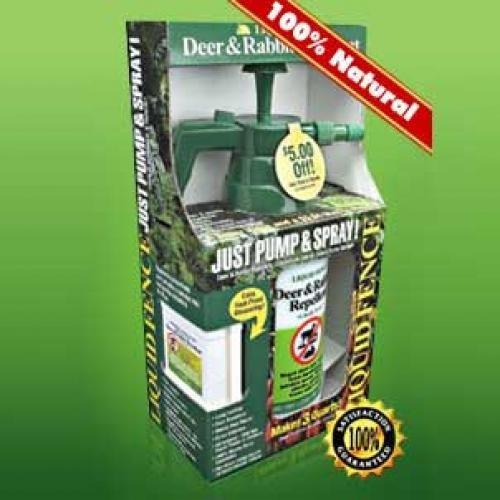 Liquid Fence Deer and Rabbit Repellent - 48 oz. Best Price
