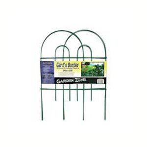 Round Folding Fence Border - 10 ft. / Color (Green - 24 in.) Best Price