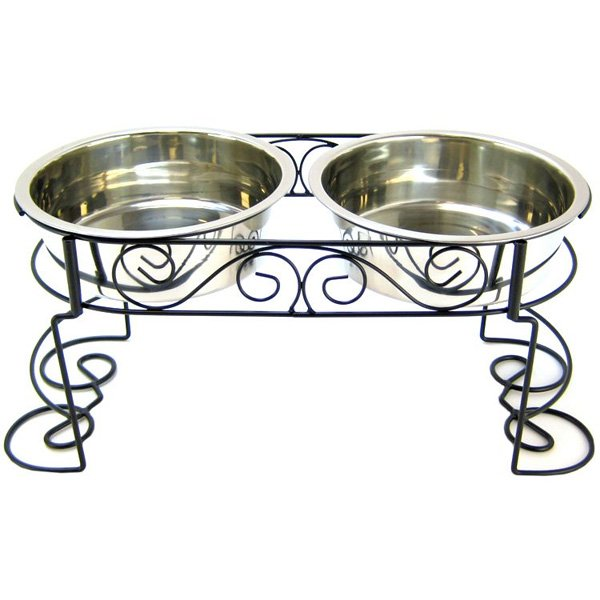 Elevated Designer Double Diner / Size (3 Quart) Best Price
