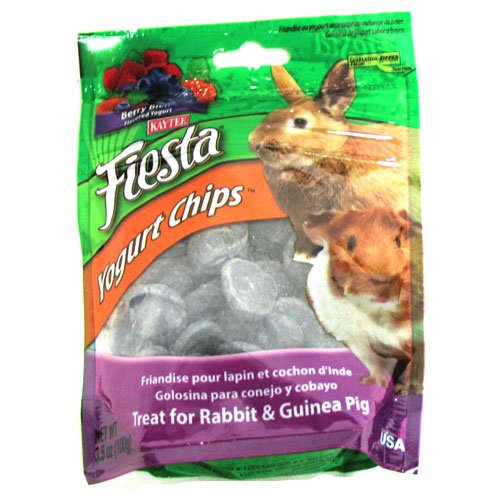 Fiesta Yogurt Chips for Rabbits and Guinea Pigs - 3.5 oz. Best Price