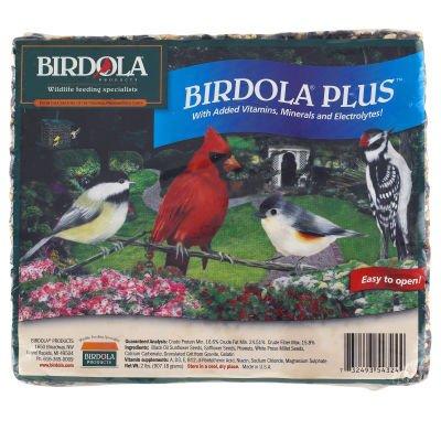 Birdola Plus Seed Cake 2 Lbs.
