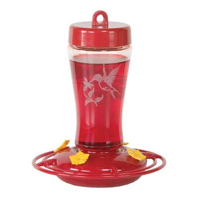 Jeweled Glass Hummingbird Feeder - 12 oz. Best Price