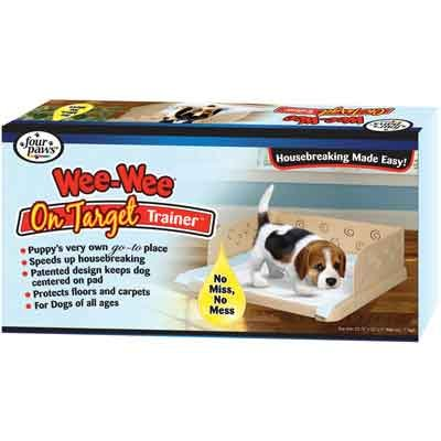 Wee Wee On Target Trainer - Puppy Wee Wee Pad Holder Best Price