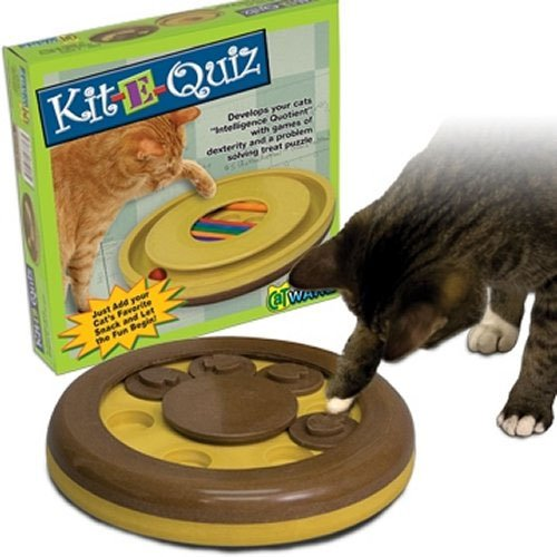 Kit-E-Quiz Cat Challenge Toy Best Price