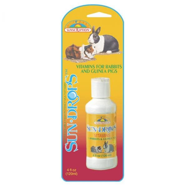 Sundrops Rabbit And Guinea Pig 4 Oz.