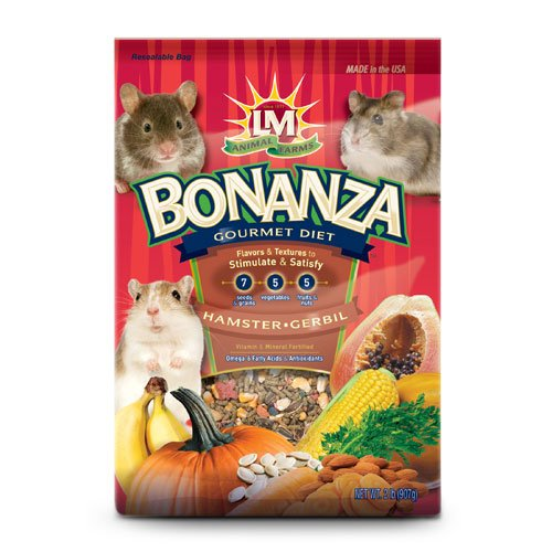 Bonanza For Hamsters Gerbils 2 Lbs