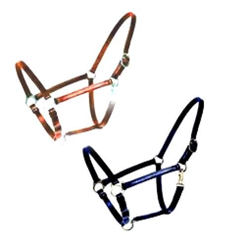 Leather Horse Halter / Size (Horse / Rust) Best Price