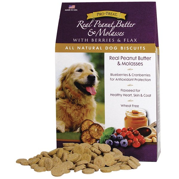 All Natural Dog Biscuits Pb And Molasses / 16 Oz