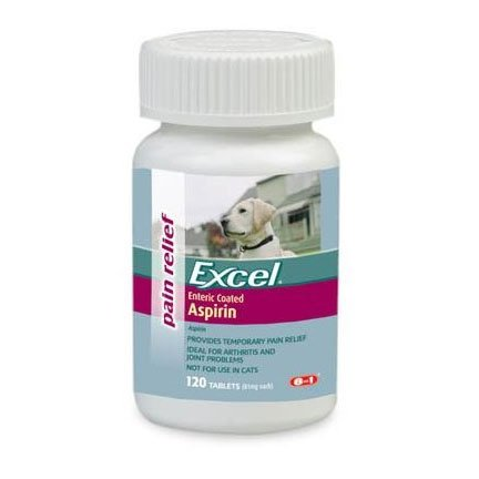 8 in 1 Excel Enteric Coated Aspirin for Dogs (120 ct) Best Price