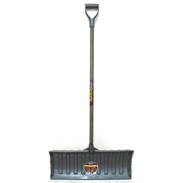 Grizzly Poly Pusher Snow Shovel - 26 in. Best Price