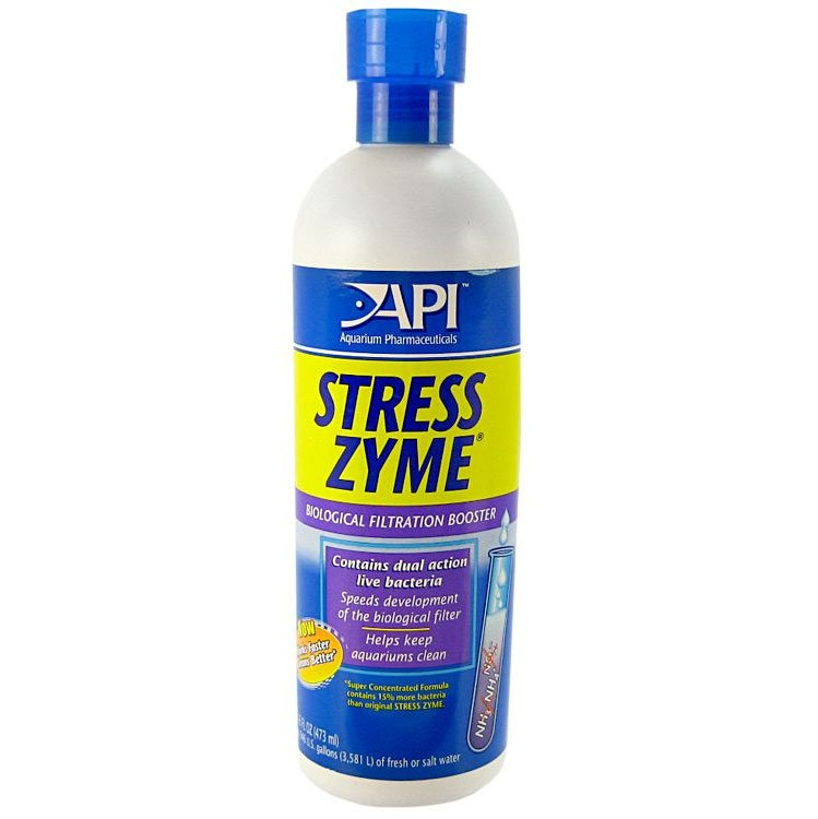 Stress Zyme Aquarium Water Conditioner / Size 16 Oz.