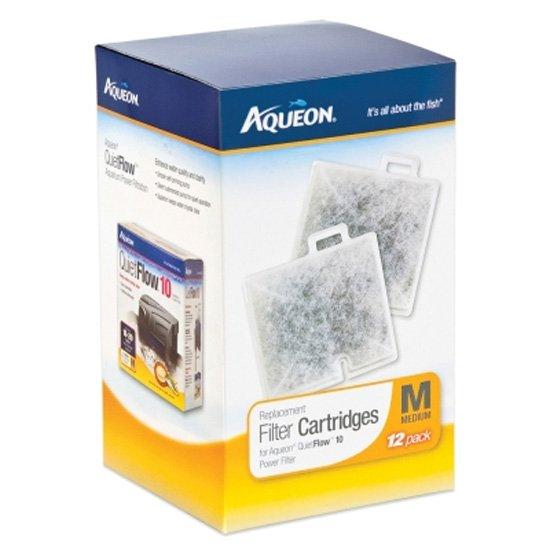 Aqueon Filter Cartridge Med / 12 Pk.