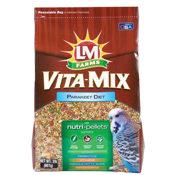 LM Vita-mix Parakeet - 2 lbs Best Price