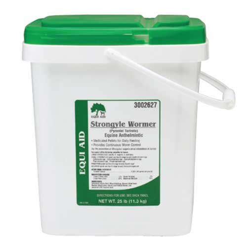 Equi-Aid Strongyle Horse Wormer - 25 lb. Best Price