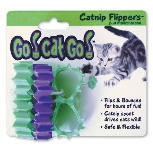 Go Cat Go Catnip Flippers 3 Pk.
