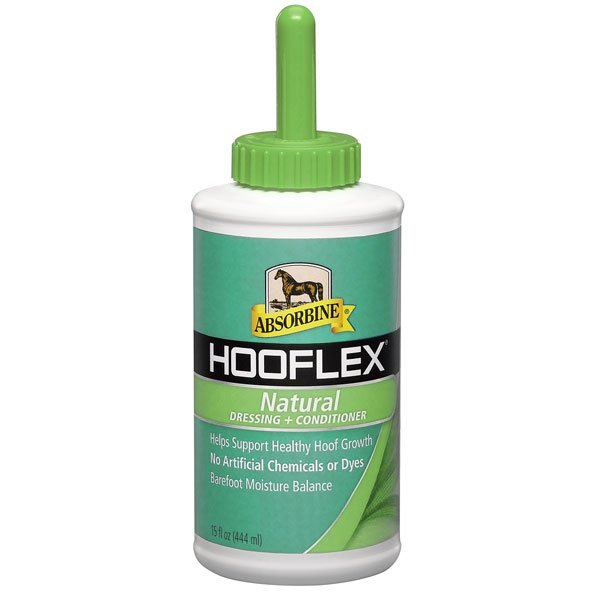 Absorbine Hooflex Natural Conditioner With Brush 15 oz. Best Price
