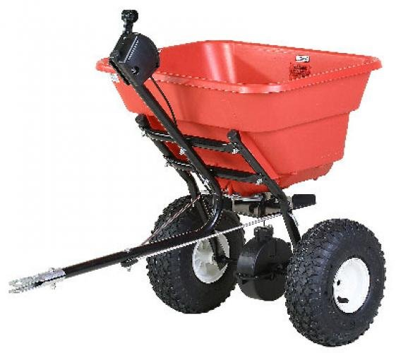 Earthway 2050TP Estate Tow Spreader with Pneumatic Wheels Best Price
