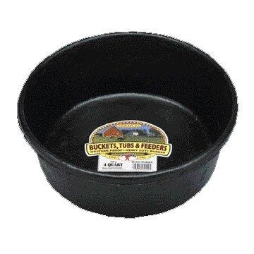 Duraflex Rubber Feed Pan / Size (4 quart) Best Price