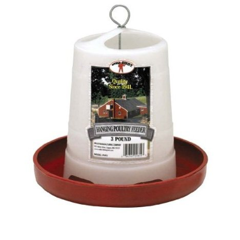 Hanging Chicken and Poultry Feeder / Size (3 lbs.) Best Price