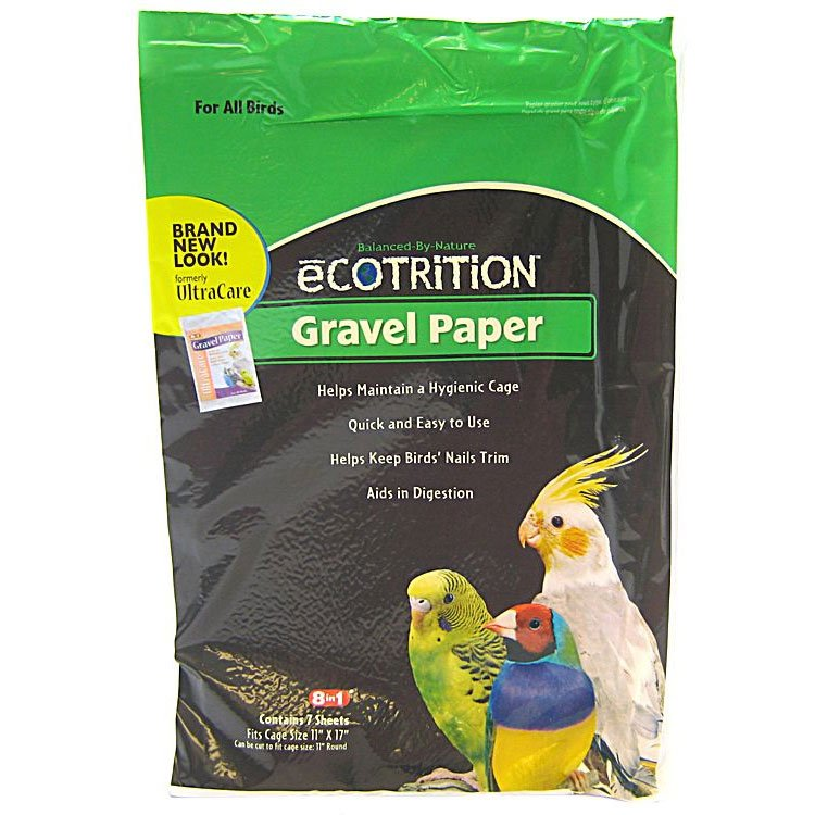 8 in 1 Avian Gravel Paper for Bird Cages / Size (11 x 17 in.) Best Price