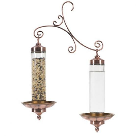 Birdscapes Copper Sip and Seed Bird Feeder Best Price