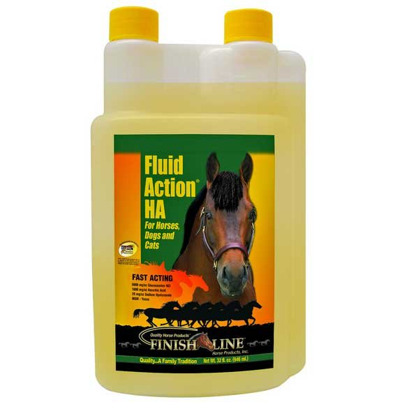 Fluid Action HA for Horses / Size (32 oz. Liquid) Best Price