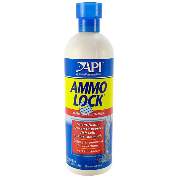 Ammo Lock 2 To Detoxify Ammonia / Size 16 Ounces