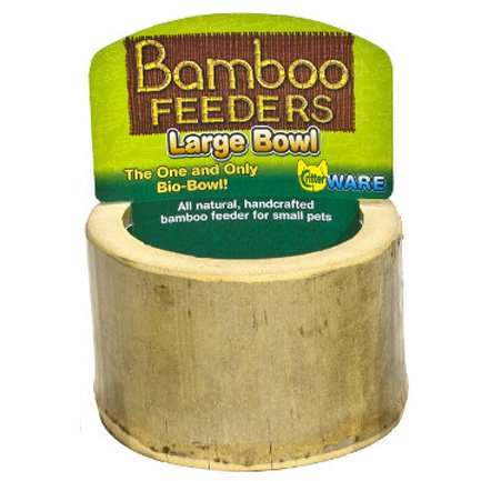 Bamboo Bowl for Small Pets - Large Best Price