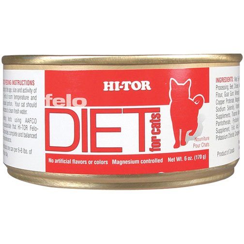 Hi-Tor Felo Diet For Cats 5.5 oz each (Case of 24) Best Price
