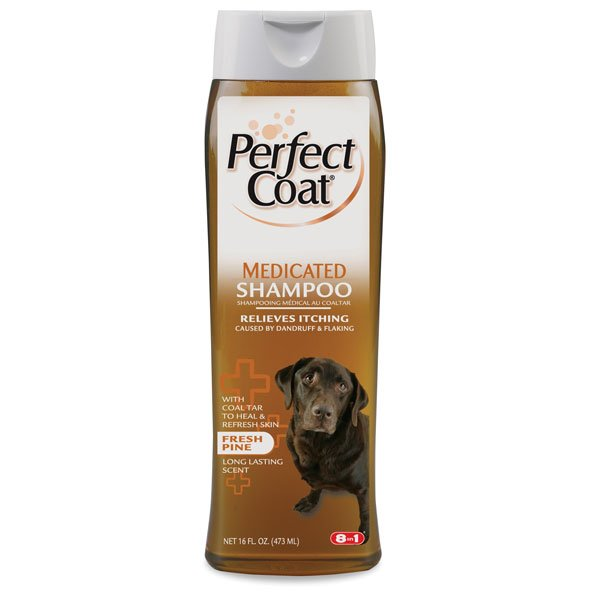 Perfect Coat Medicated Shampoo 16 Oz.
