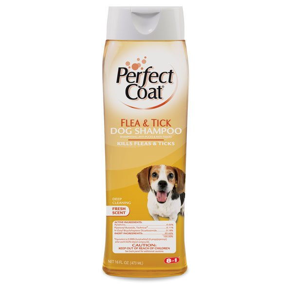 Tick Flea Dog Shampoo 16 Oz.