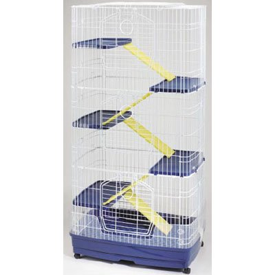 Large Clean Living Cage Small Pets - 6 Levels Best Price
