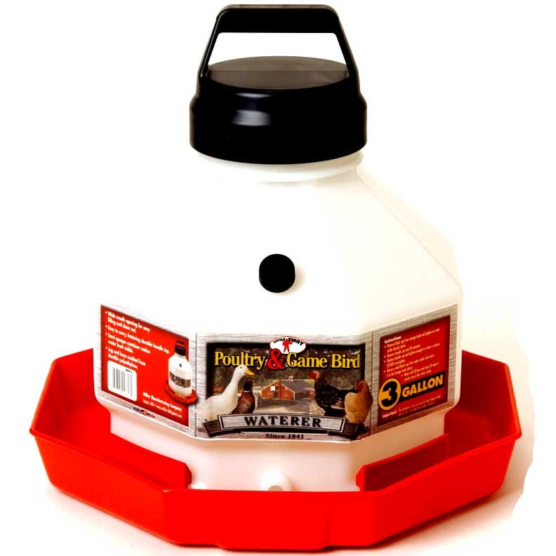 Poultry Fountain - Auto Waterer / Size (3 Gallon) Best Price