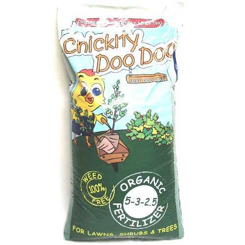 Chickity Doo Doo Organic Fertilizer 40 lbs Best Price