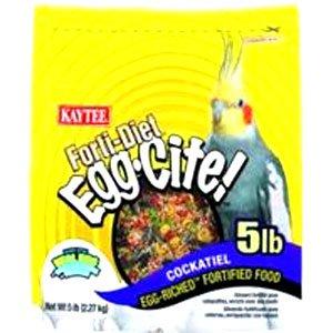 Cockatiel Forti Diet Eggcite 5 Lbs