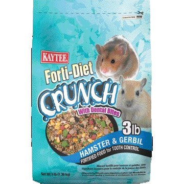 Hamster and Gerbil Forti-diet Crunch - 3 lbs Best Price