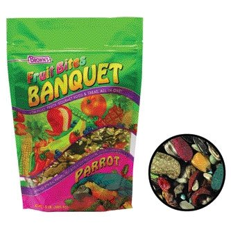 Fruit Bites Banquet For Parrots - 2 lbs Best Price