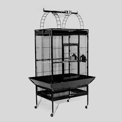 Parrot Prevue Select Cage 30x22x63 in. / Color (Black) Best Price
