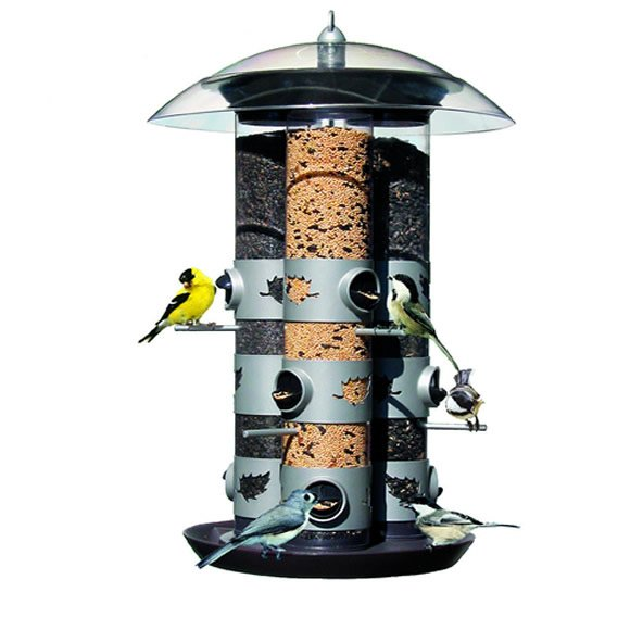 Birdscapes 2-in-1 Triple Tube Feeder - 15.25  DIAMETER Best Price