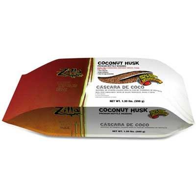 Coconut Husk Brisk Reptile Bedding 1.3 Lb.